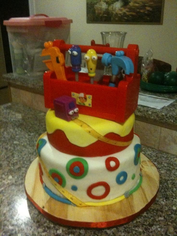 Handy Manny Birthday Cake   Handy manny birthday ...