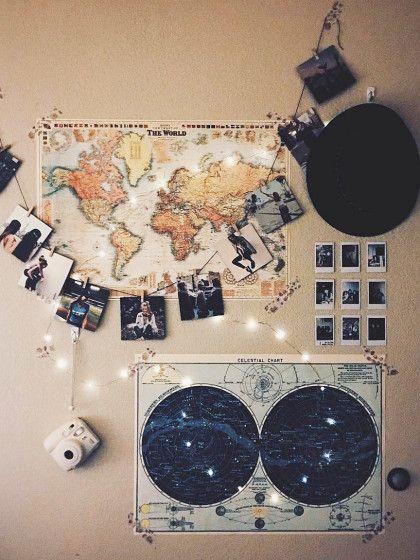 Die besten 25+ Weltkarte Ideen auf Pinterest Weltkarten-Wand - dekorieren im art deco stil luxus wohnung