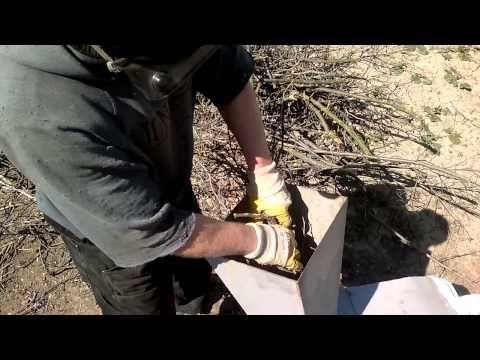 садовый измельчитель самодельный - YouTube