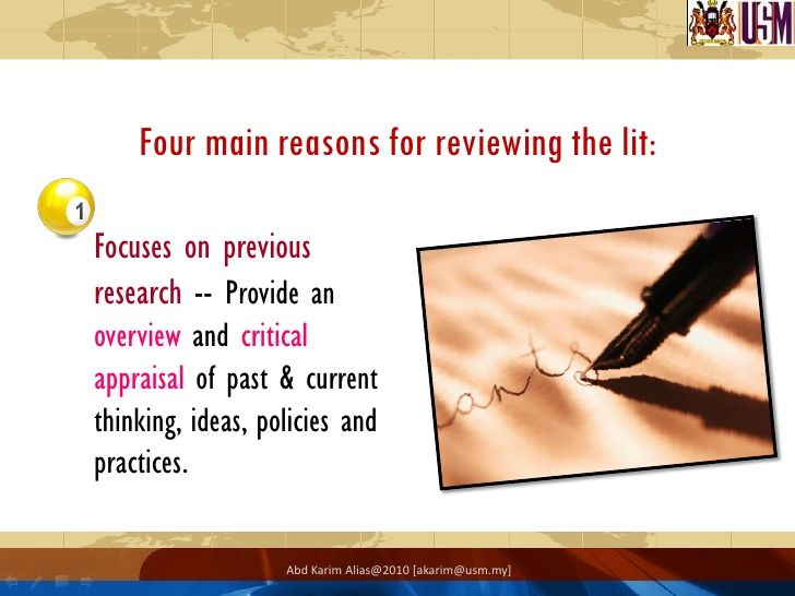 the literature review presents Sample apa papers: literature review this section offers a sample literature review, written by an undergraduate psychology student  in the present paper, the role gives reader an attachment plays in adolescent depression is investigated it is hypothesized that insecurely ea of what the paper will cover.
