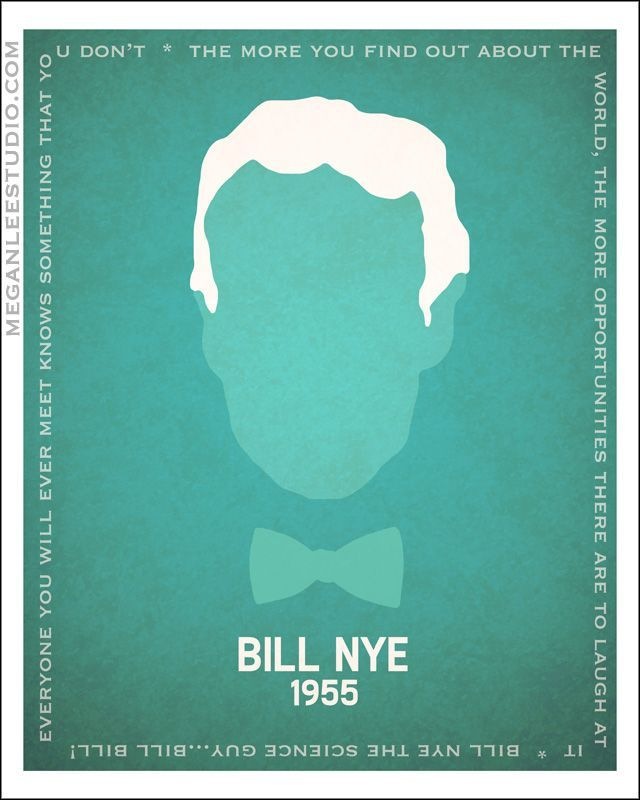 "William Sanford ""Bill"" Nye (born 1955), popularly known as Bill Nye the Science Guy, is an American science educator, comedian, television presenter, actor, writer, scientist, and former mechanical engineer, best known as the host of the Disney/PBS children's science show Bill Nye the Science Guy (1993–1998) and for his many subsequent appearances in popular media as a science educator."
