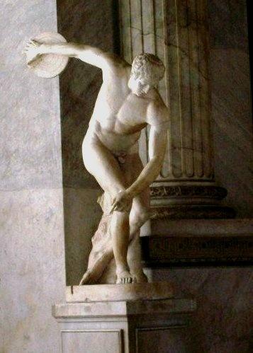 Discus Thrower, Vatican Museum