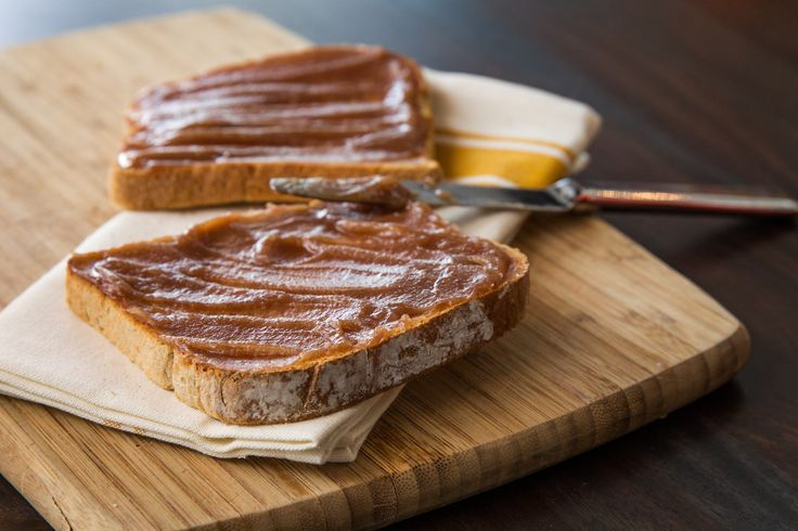 Pumpkin butter on our Grandfather style bread