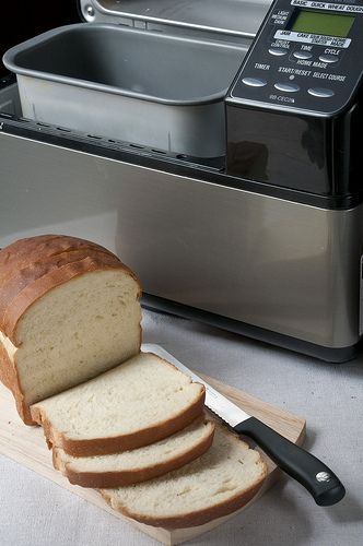 Sweetened condensed milk white bread in bread machine...I think I'll have to give this a try! ...update:  I made this and it was amazing!!!!!  I'll be doing this one again.  It's the easiest bread I've ever made!