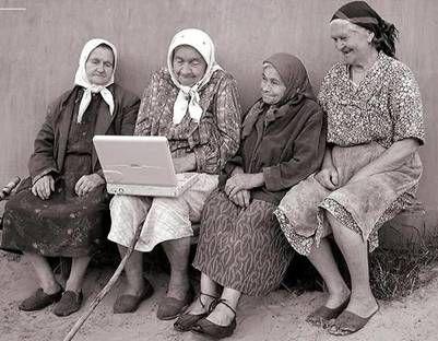 Four Old Italian Ladies