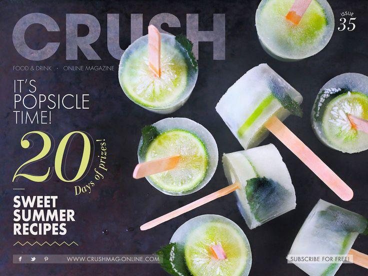 Crush Online magazine cover     issue 35