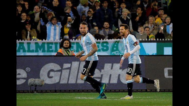 Brazil 0 Argentina 1: Manchester City ace Gabriel Jesus stretchered off as Gabriel Mercados tap