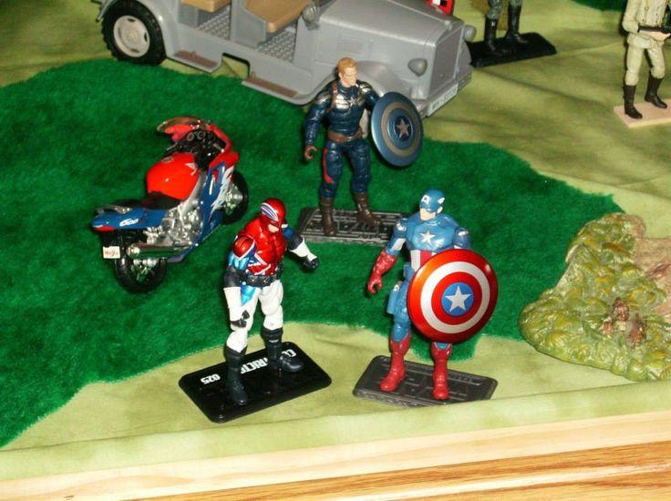 Captain America and Captain Britain