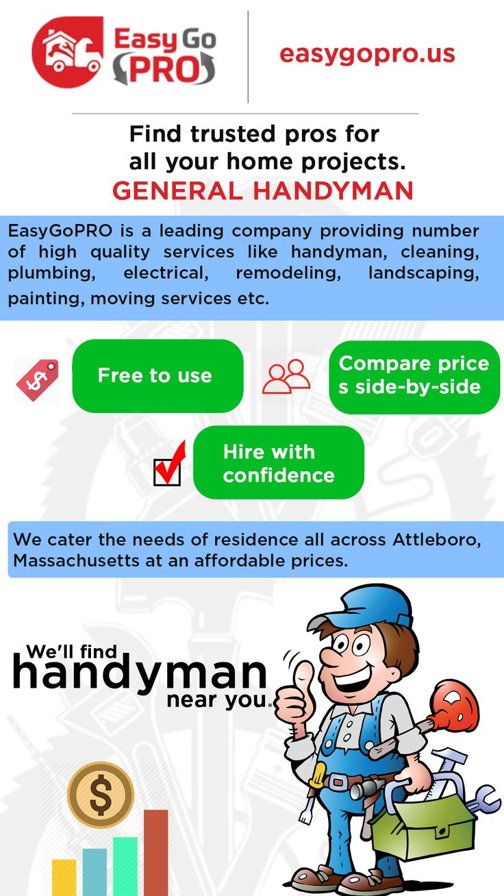 EasyGoPRO is the simplest way to find and book Handyman