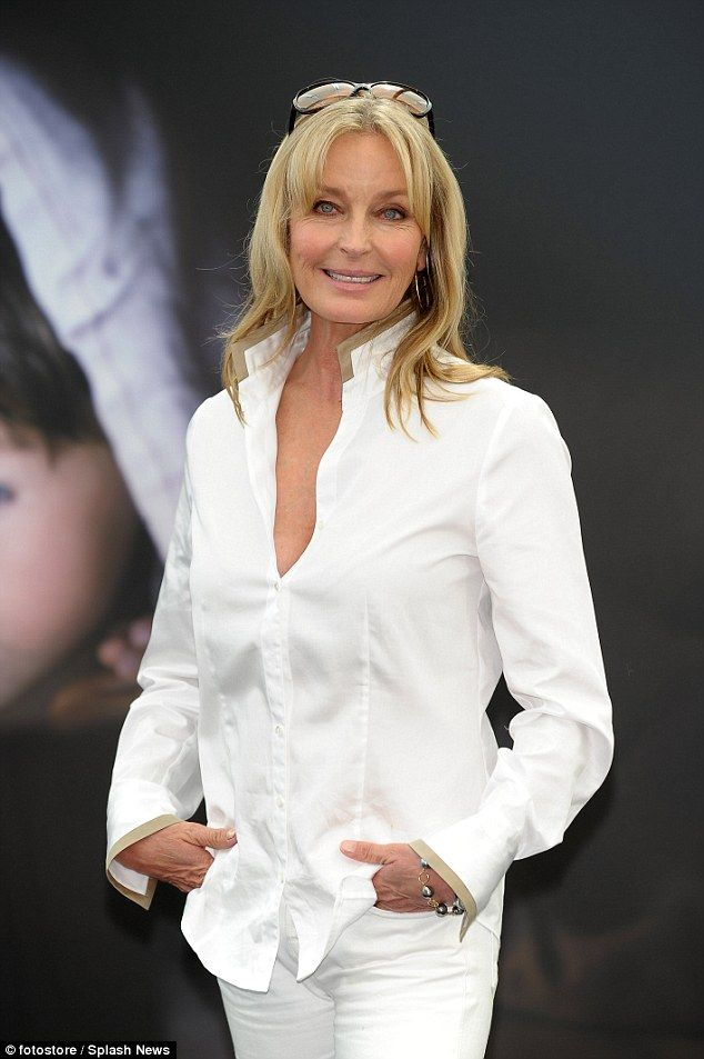 Youthful glow: Bo Derek, 58, looked young and radiant on Monday as she appeared for a phot...