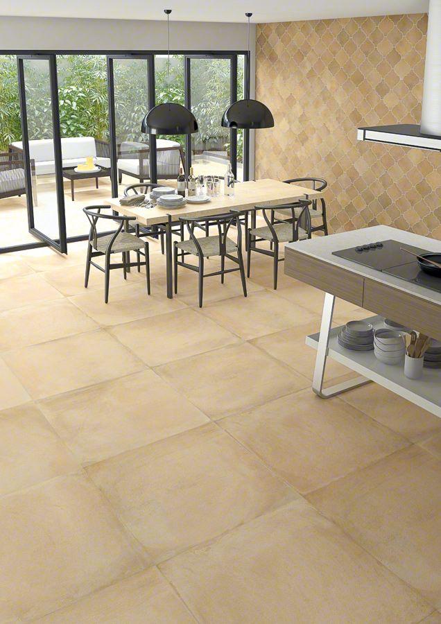 Floor Tiles Porcelain Rustic Effect Tiles Laverton 80x80 Vives