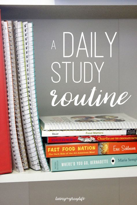 A Daily Study Routine