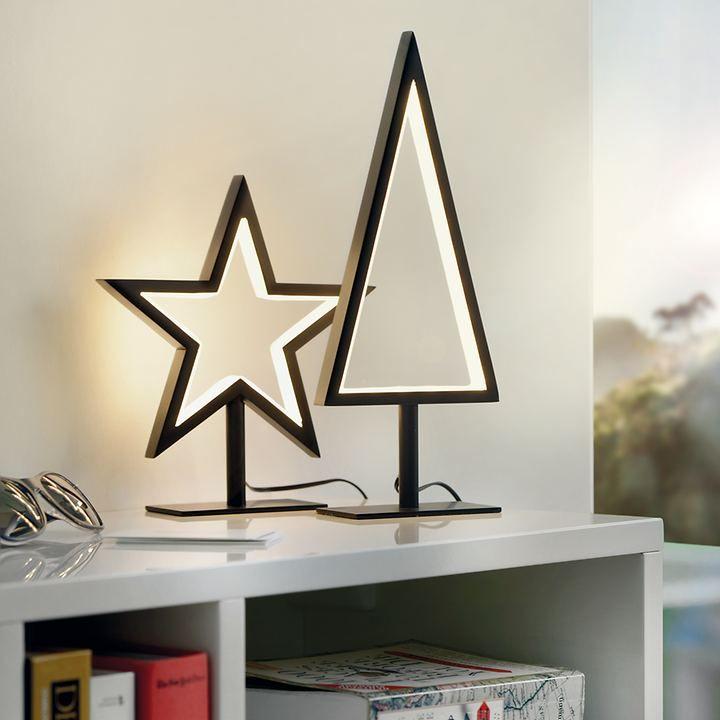 Weihnachtsdeko Led Stern.Led Stern Baum Für Eine Puristische Weihnachtsdeko Weihnachten Led
