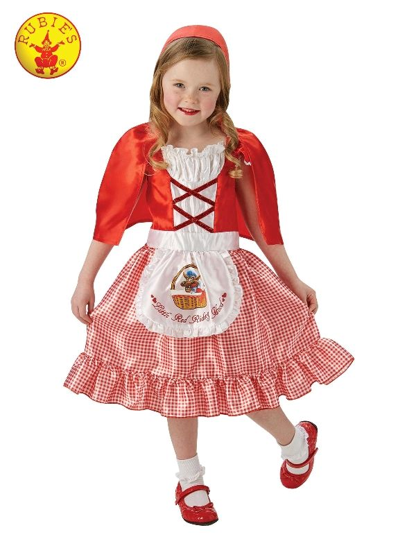 Ladies Red Riding Hood Costume Adult Fairytale Fancy Dress Book Week Day Outfit