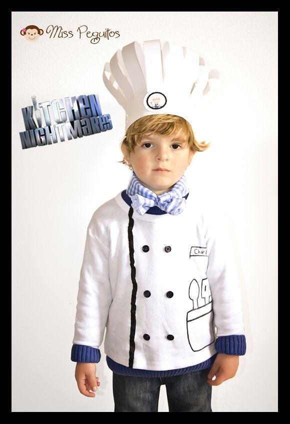 disfraz chef costume