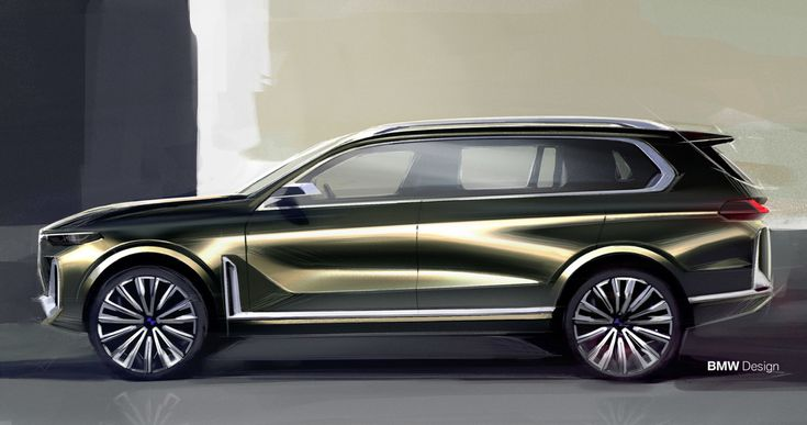 BMW Concept X7 iPerformance: An Emotional Redefinition of Luxury - Design Milk