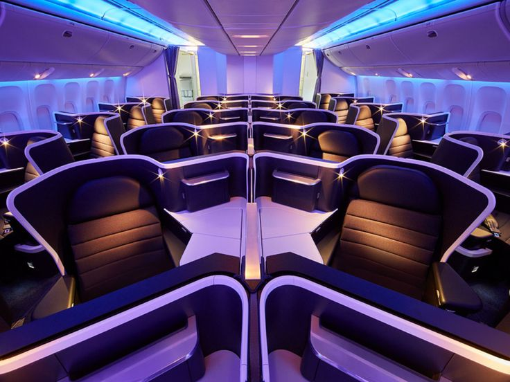 Virgin Australia's New Business Cabins