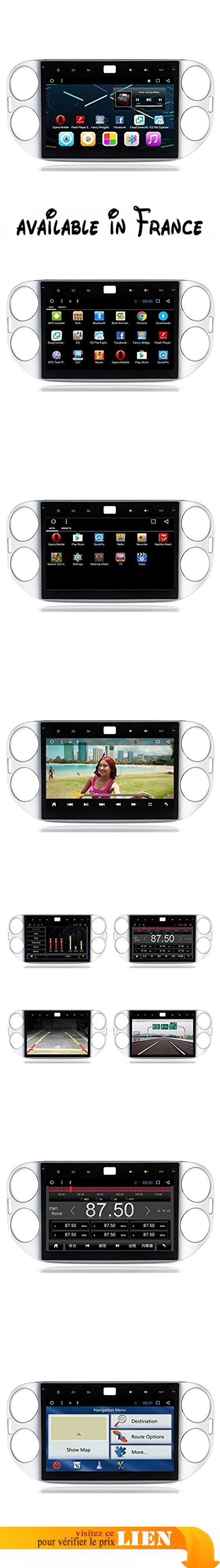 10,1 pouces 1024 * 600 Android 6.0 Unité stéréo voiture avec carte GPS Navigation Sat Nav HD écran tactile Lecteur vidéo / récepteur audio pour VW Tiguan 2013 ( Couleur : UI-2 ). CPU: R16 A7 QuadCore Fréquence principale 1.6Ghz, RAM: DDR3 1GB, Mémoire: Built-in Disque dur: 16GB. 4G Internet Surfing: prise en charge de la carte réseau 4G ou du point de téléphone sans fil du téléphone cellulaire. WIFI Internet Surfing: WIFI intégré, supportant la navigation sur