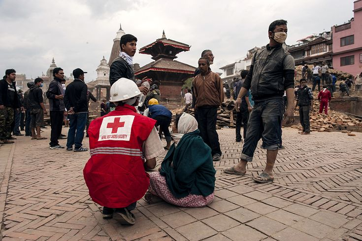 2015年ネパール地震救援金 緊急救援・被災者支援 寄付する 日本赤十字社
