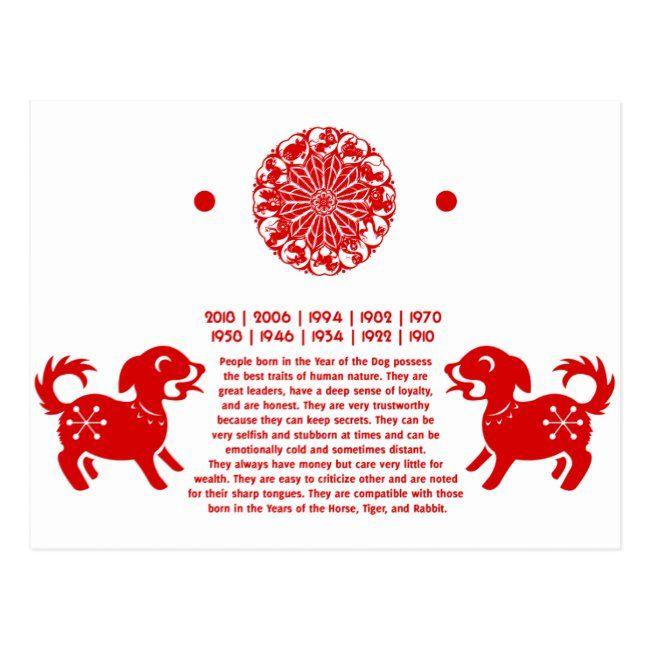 Chinese Zodiac Dog Papercut Illustration Postcard Zazzle Com In 2021 Papercut Illustration Chinese Zodiac Dog Dog Chinese Zodiac