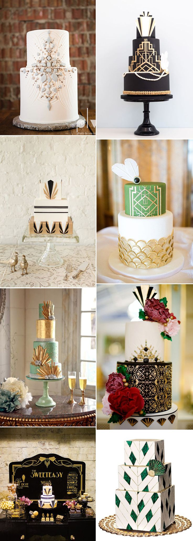 160 best Great Gatsby Inspired Vintage Wedding Ideas images on ...