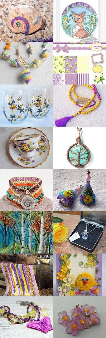 Crocus Is a Flower by Iya Churakova on Etsy--Pinned with TreasuryPin.com