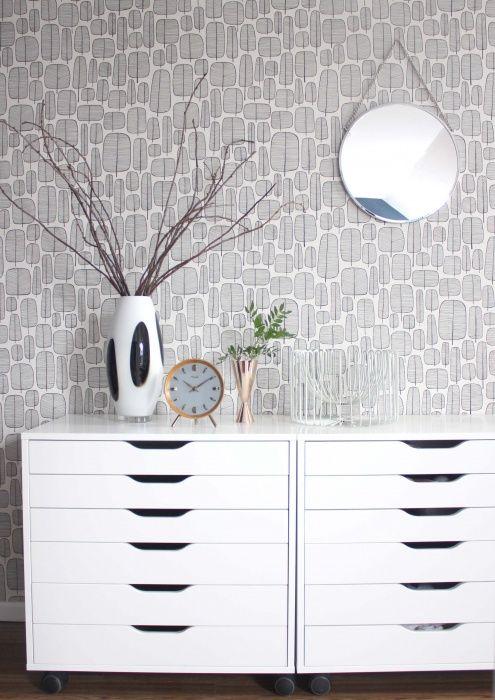 Tauschen?!, Tags Tapete + Kupfer-Vase + Ikea Alex