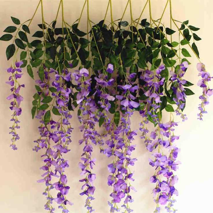 14 best decor vine images on pinterest plants plant and diy flower silk wisteria garland artificial wisteria flower garlands for wedding decoration home decorations online with 5194 mightylinksfo