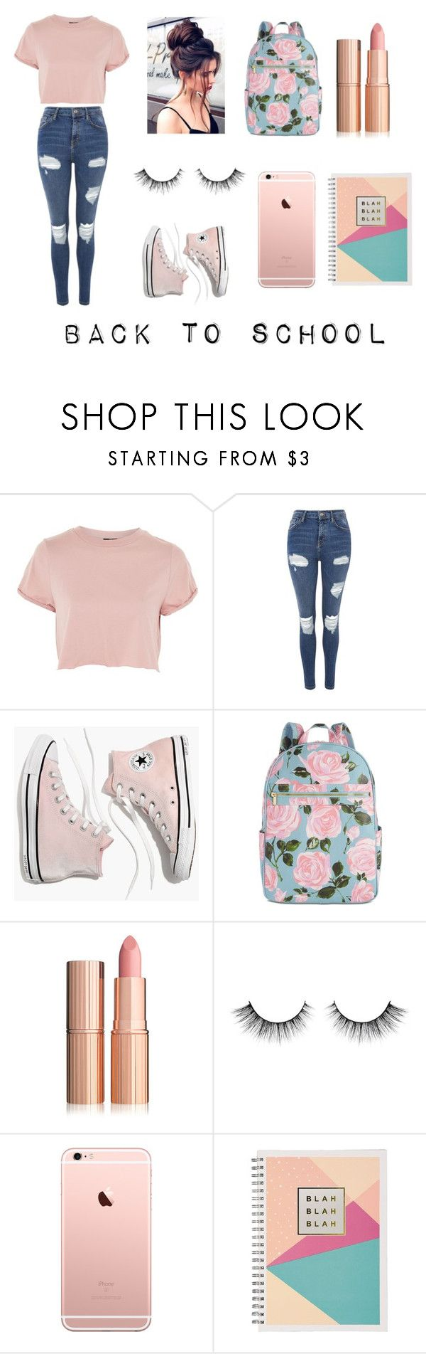 """""""Back to school"""" by carol-gegenheimer on Polyvore featuring moda, Topshop, Madewell e ban.do"""
