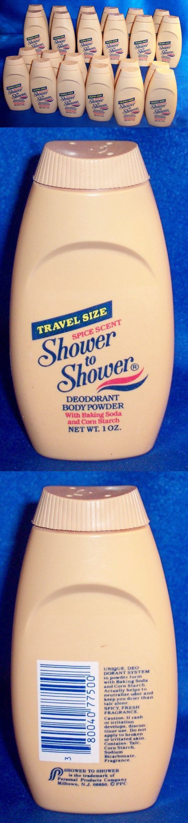 Body Powders: Rare New Vintage Shower To Shower Spice Scent Deodorant Body Powder 1Oz Lot 25 BUY IT NOW ONLY: $54.95
