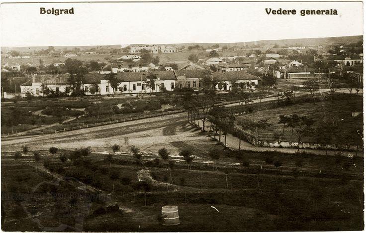 Oraşul Bolgrad. Vedere generală.