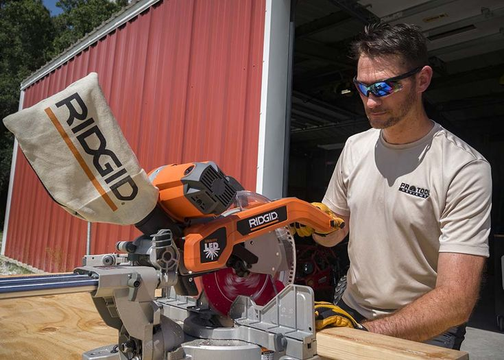 Ridgid MS255SR 10-inch Dual Bevel Miter Saw Review - http://www.protoolreviews.com/tools/power/corded/saws/ridgid-ms255sr-10-inch-miter-saw-review/25175/