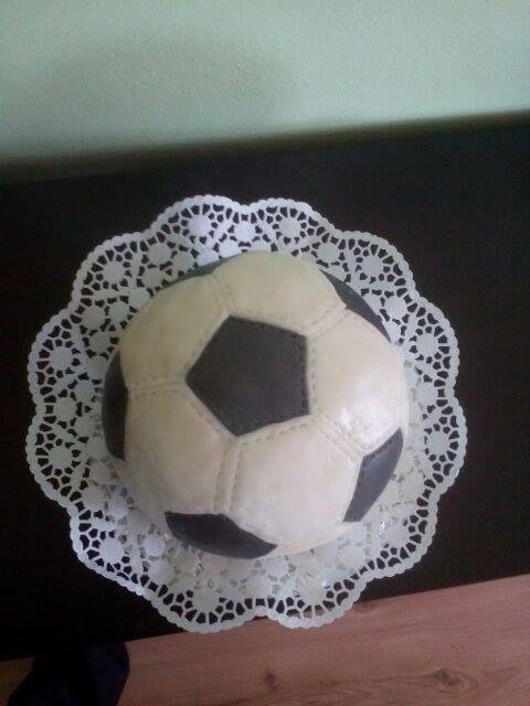 socker ball cake