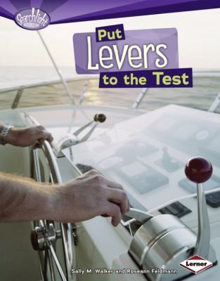 Work -- Macines -- Parts of a lever -- Changing the amount of force -- Kinds of levers.