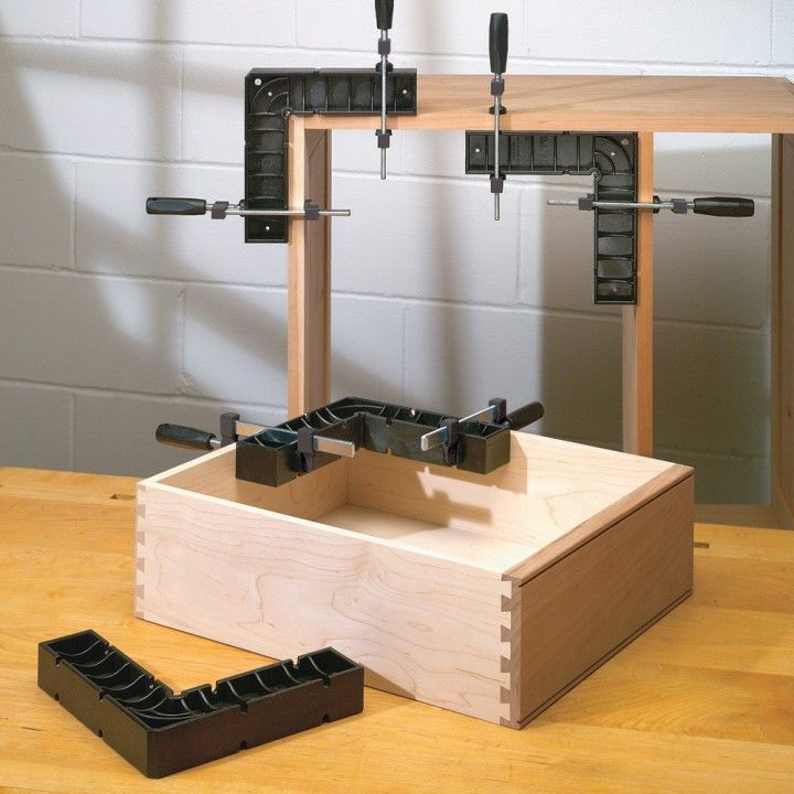 Rockler Clamp-It® Assembly Square - Having the clamp it is like having a helper in the shop with you, and you can do so much with so little its just a great tool