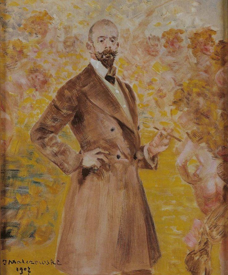 Jacek Malczewski - Self-portrait (1907) Vision