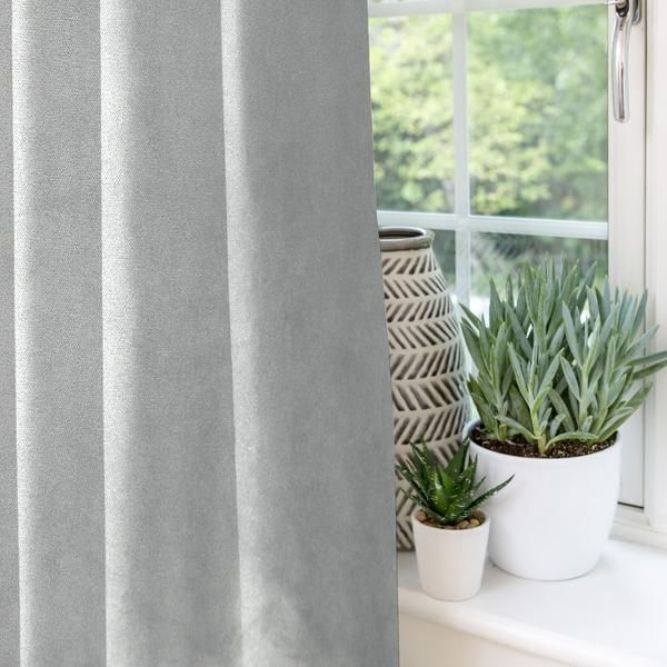 A Comprehensive Overview On Home Decoration In 2020 Grey Velvet Curtains Velvet Curtains Curtains