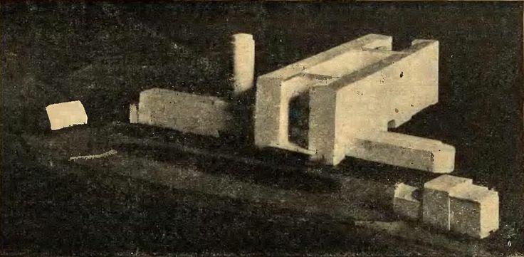 1929 , Niezrealizowany projekt nowej rejencji.
