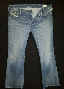 Diesel Zathan Jeans Wash 0073H Size 40 X 32 Button Fly Made In Italy  | eBay