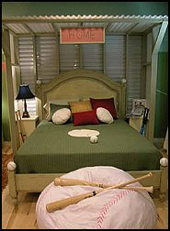 Contemporary Baseball Bedrooms Designs