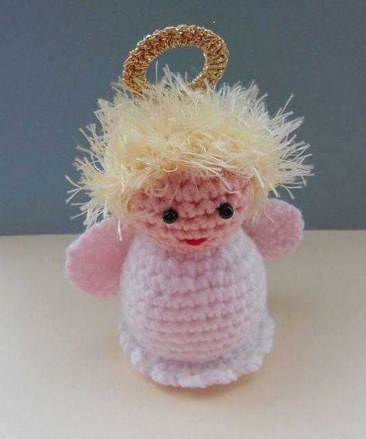 Mas de 1000 imagenes sobre Crochet Christmas Angel ... en ...