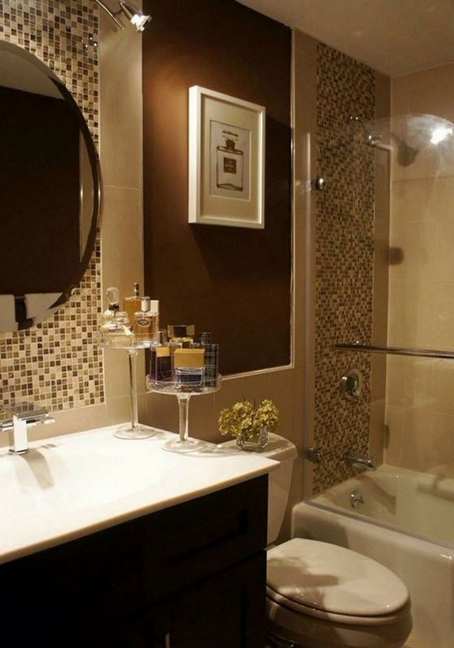 40 The One Thing To Do For Bathroom Remodel Brown Blue Bathroom
