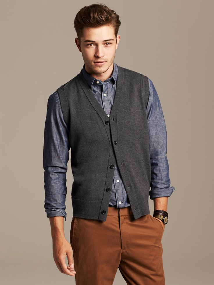 141 best Men's Sweater vests images on Pinterest | Sweater vests ...