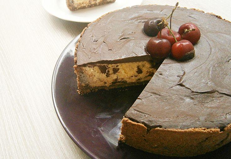 Cheesecake de ciocolata  #cheesecake #chocolate #sweet