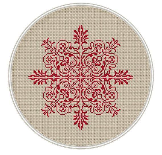 Vintage Design Cross Stitch Pattern ross stitch chart cross