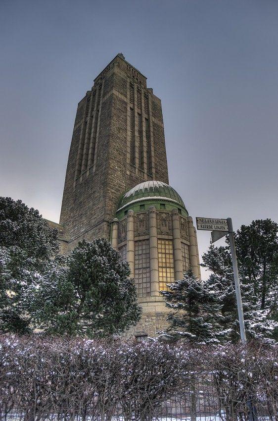 HDR in Helsinki: Church of Kallio Kallion kirkko located in the Kallio district.