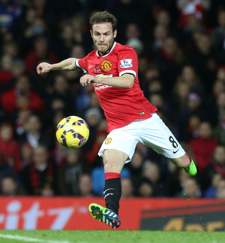 Juan Mata became @manutd's then-record signing in January 2014.
