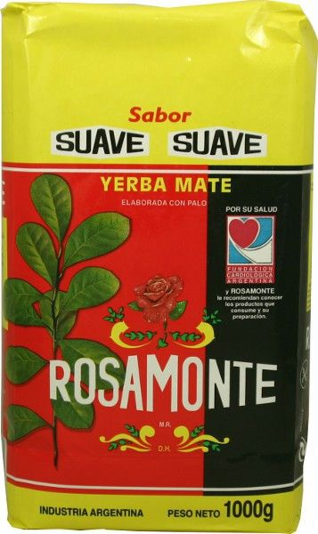 ROSAMONTE - Yerba Mate y Mate Cocido Traditional Herbal Tea from Argentina.