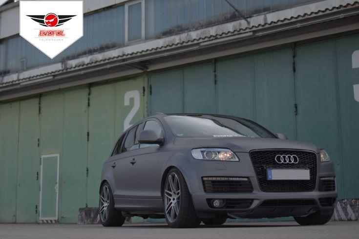 Vollverklebung / Carwrapping Audi Q7