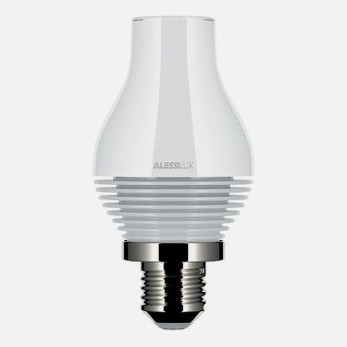 Allessilux Light Bulbs  The shape of the original light bulb is a beautiful thing: Functional and manufacturable according to the glassblowing technology available at the time.Alessi is really breaking the mold with theirAlessiLux bulb collection.   What do you think of this? Would you buy it?
